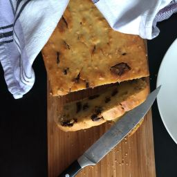 Ricotta loaf with chocolate